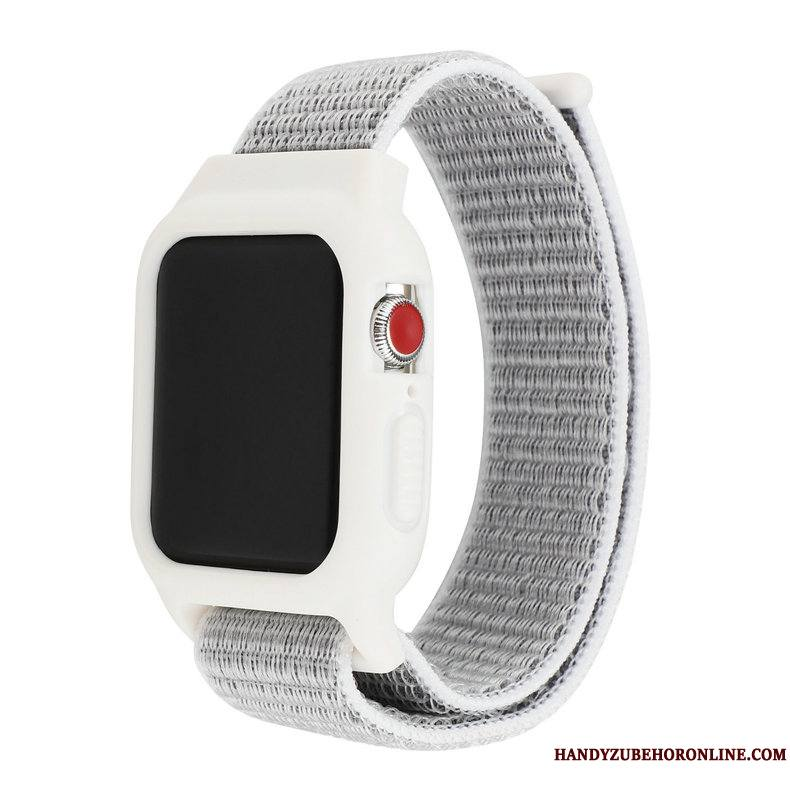 Apple Watch Series 1 Coque Nylon Protection Blanc