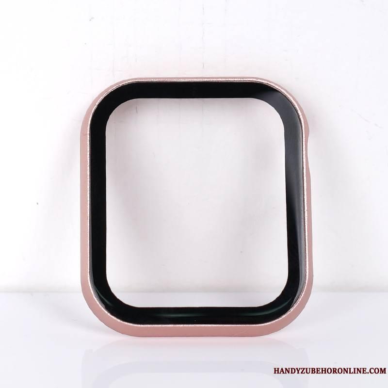 Apple Watch Series 2 Tout Compris Tempérer Membrane Border Coque Protection Rose