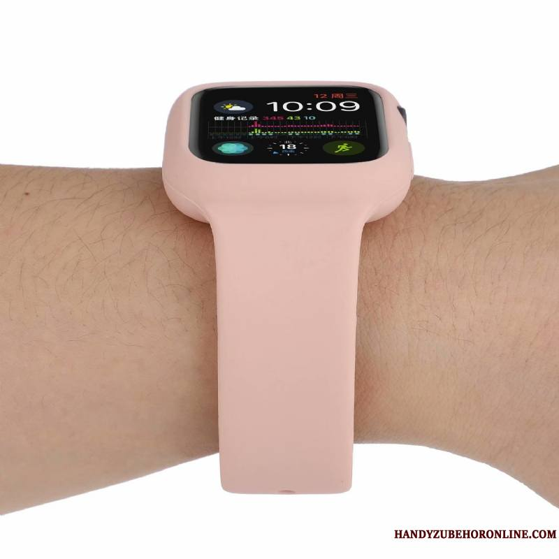 Apple Watch Series 5 Nouveau Tendance Mode Rouge Protection Sport Coque