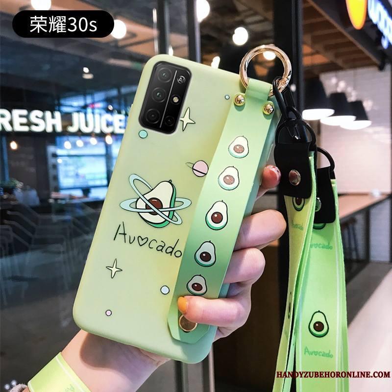 Honor 30s Coque Téléphone Portable Incassable Personnalité Créatif Charmant Dessin Animé Étui