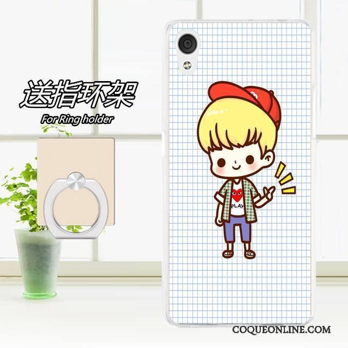 Htc Desire 728 Coque Étui Rose Protection Fluide Doux De Téléphone Téléphone Portable