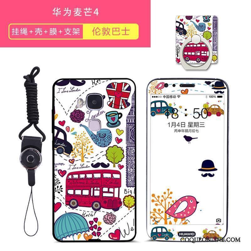 Huawei G7 Plus Tendance Tout Compris Créatif Silicone Coque De Téléphone Charmant Incassable