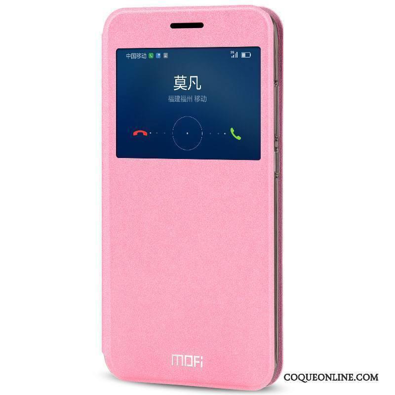 Huawei G9 Plus Coque Bleu Clair Téléphone Portable Housse Incassable Étui Étui En Cuir Protection
