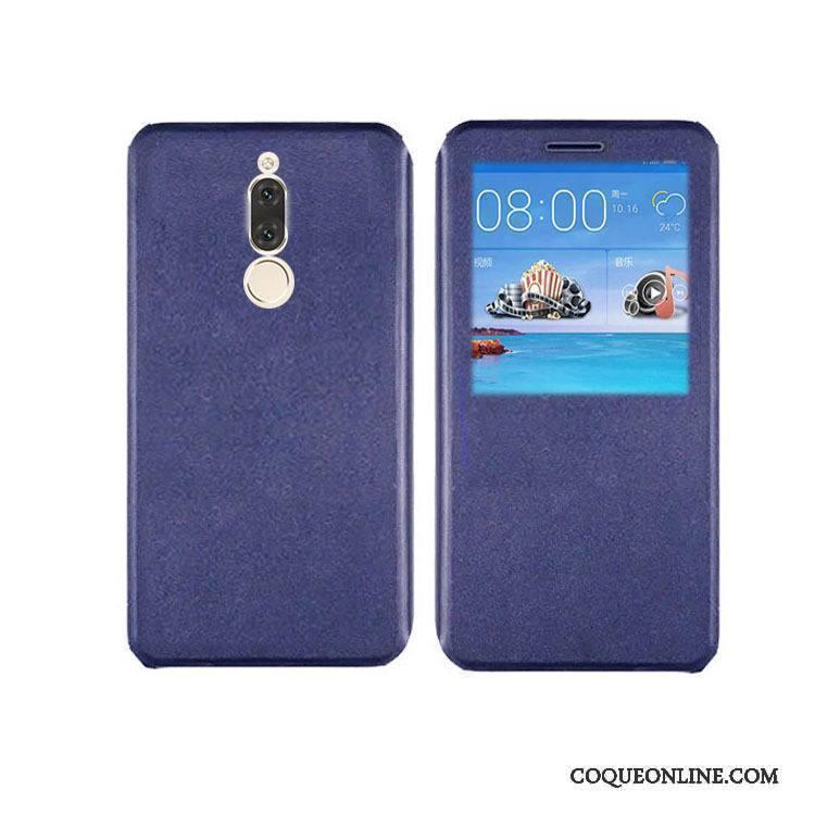 Huawei Mate 10 Lite Étui En Cuir Tout Compris Fluide Doux Rose Coque De Téléphone Protection