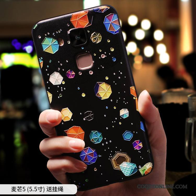 Huawei Mate 10 Lite Multicolore Étui Très Mince Délavé En Daim Coque De Téléphone Silicone Créatif
