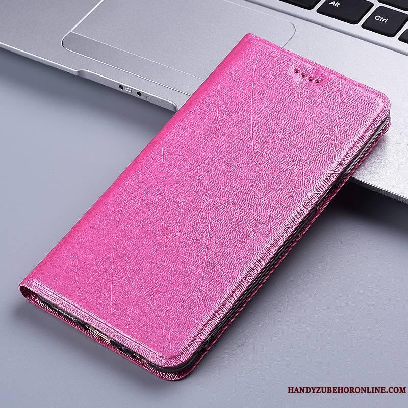 Huawei P Smart 2019 Soie Téléphone Portable Étui En Cuir Protection Coque De Téléphone Housse Incassable