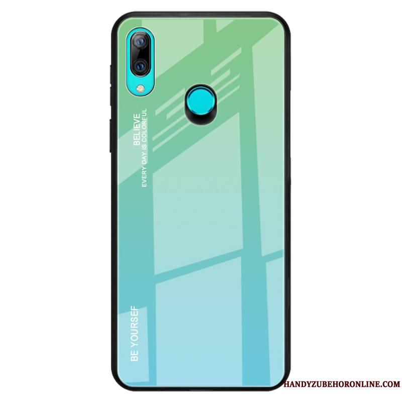 Huawei P Smart Z Coque Tout Compris Dégradé De Couleur Personnalité Étui Protection Silicone