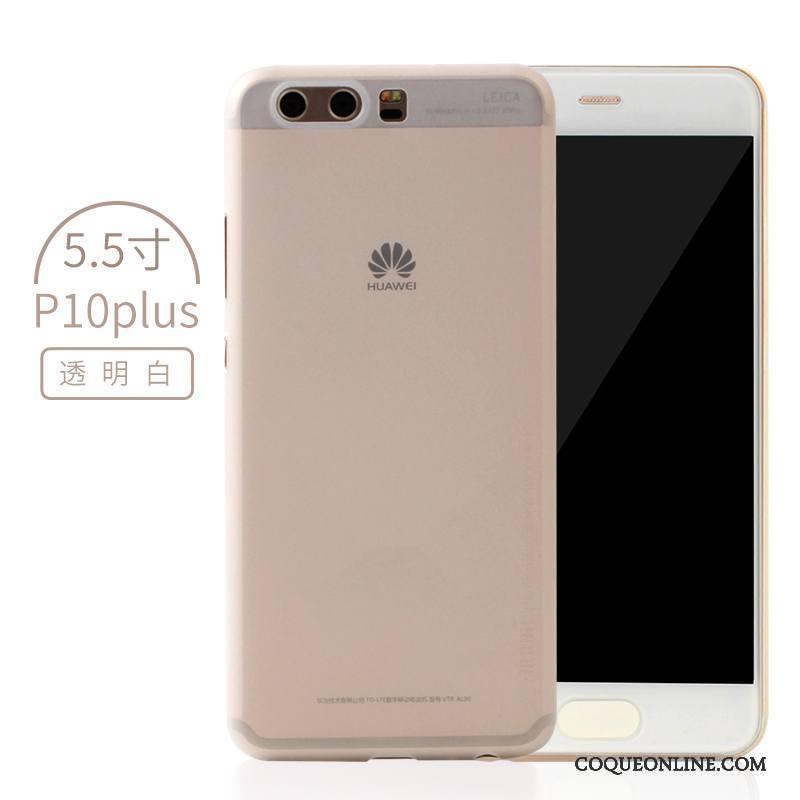 Huawei P10 Plus Créatif Très Mince Protection Délavé En Daim Coque De Téléphone Étui Bleu