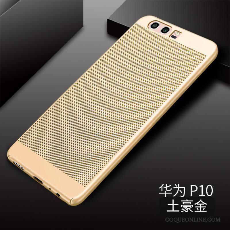 Huawei P10 Respirant Délavé En Daim Étui Incassable Coque De Téléphone Difficile Protection
