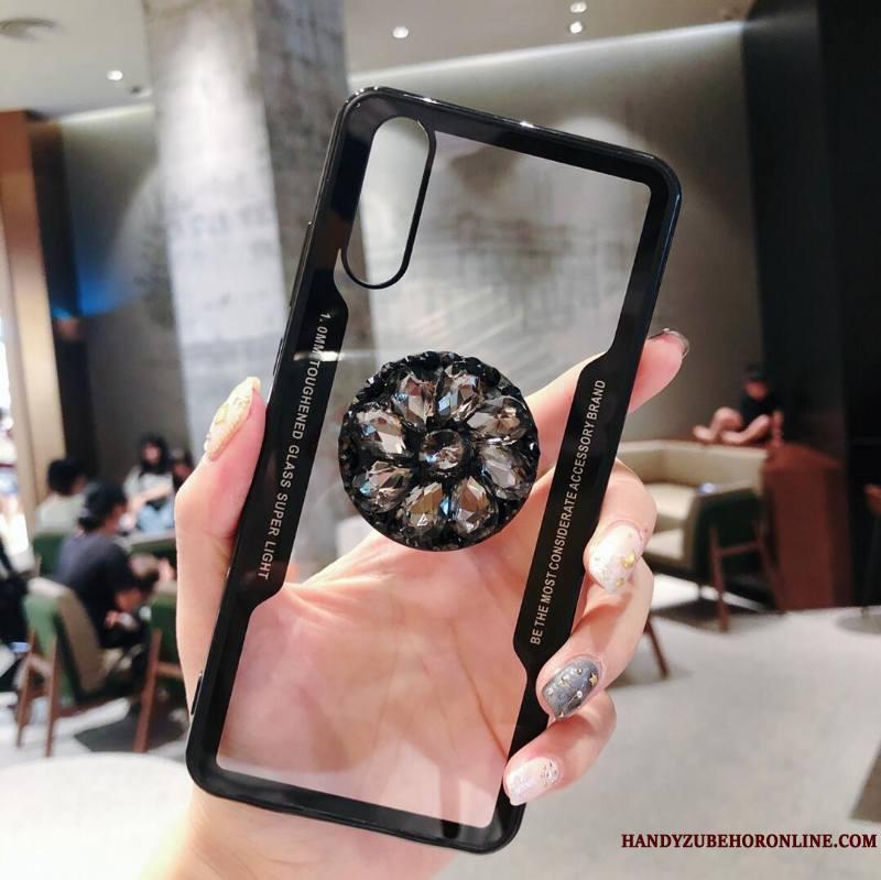 Huawei P20 Support Tout Compris Créatif Ballon Coque De Téléphone Strass Transparent