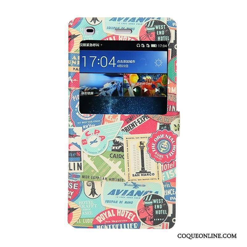 Huawei P8 Lite Coque De Téléphone Jeunesse Housse Jaune Étui Protection Fluide Doux