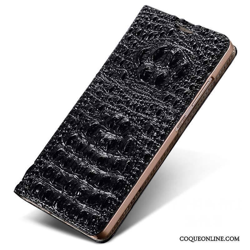 Huawei P9 Téléphone Portable Housse Cuir Véritable Coque De Téléphone Étui En Cuir Incassable Blanc