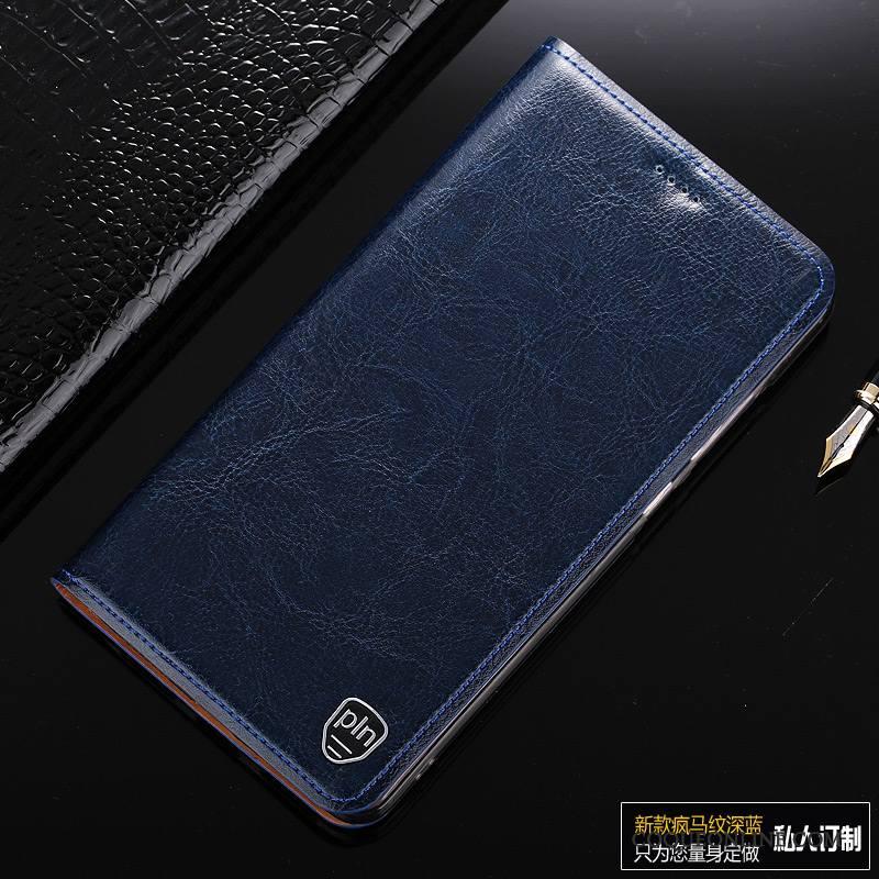 Mi Mix 2 Housse Téléphone Portable Petit Protection Étui Coque De Téléphone Cuir Véritable