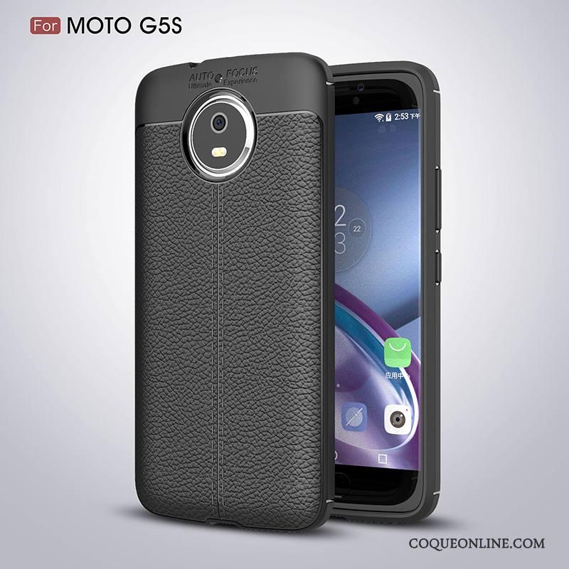 Moto G5s Incassable Tout Compris Étui Coque De Téléphone Bleu Protection Silicone