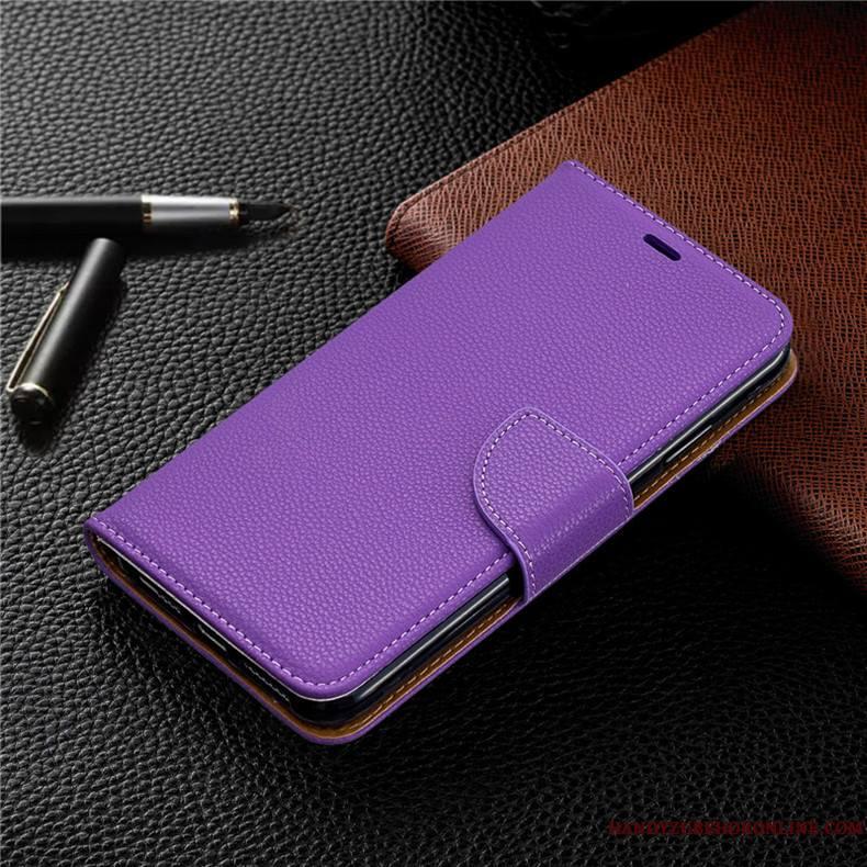 Nokia 4.2 Housse Coque De Téléphone Violet Portefeuille Tout Compris Protection Étui En Cuir