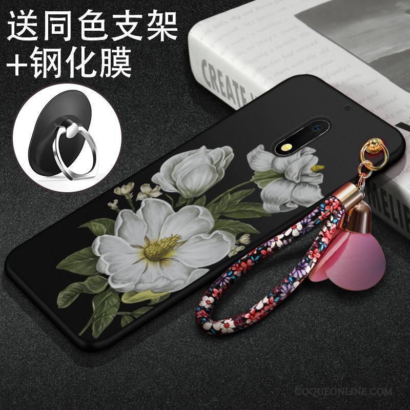 Nokia 6 Étui Tendance Délavé En Daim Fluide Doux Protection Coque Incassable