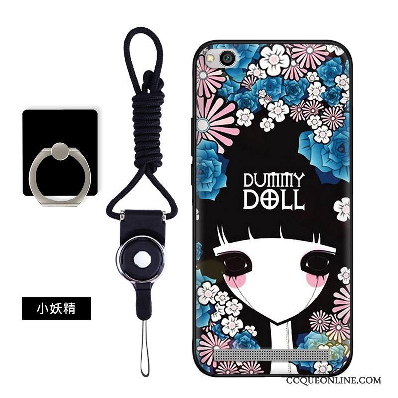 Redmi 5a Coque Protection Petit Silicone Noir Dessin Animé Téléphone  Portable Étui Soldes b0f3a1481e71
