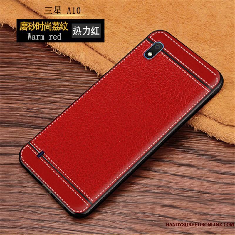 Samsung Galaxy A10 Coque De Téléphone Protection Incassable Étui Étoile Modèle Fleurie Rose