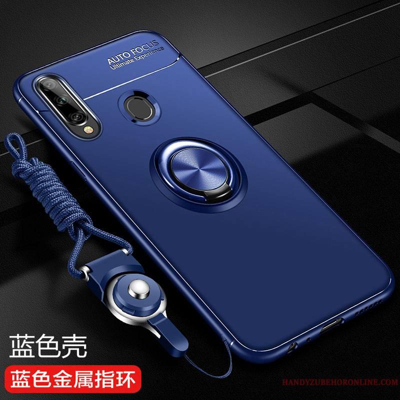 Samsung Galaxy A20s Coque Protection Tout Compris De Téléphone Délavé En Daim Étoile Bleu