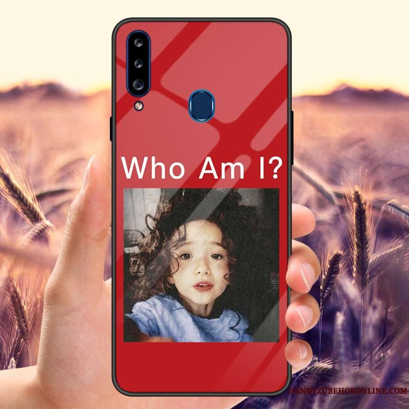 Samsung Galaxy A20s Incassable Amoureux Célébrité Coque De Téléphone Modèle Personnalisé Miroir