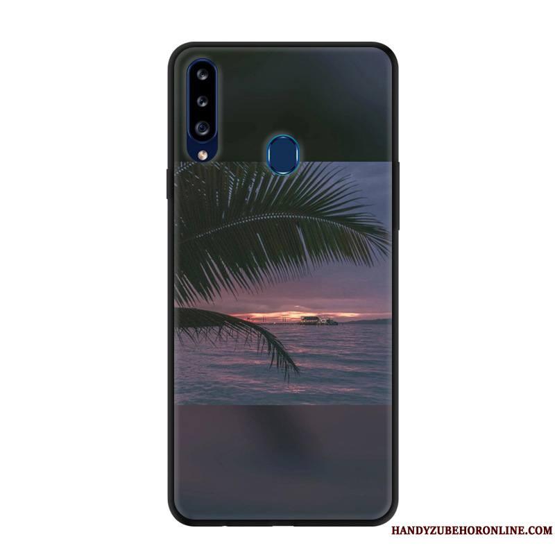 Samsung Galaxy A20s Incassable Protection Rouge Créatif Étui Étoile Coque De Téléphone