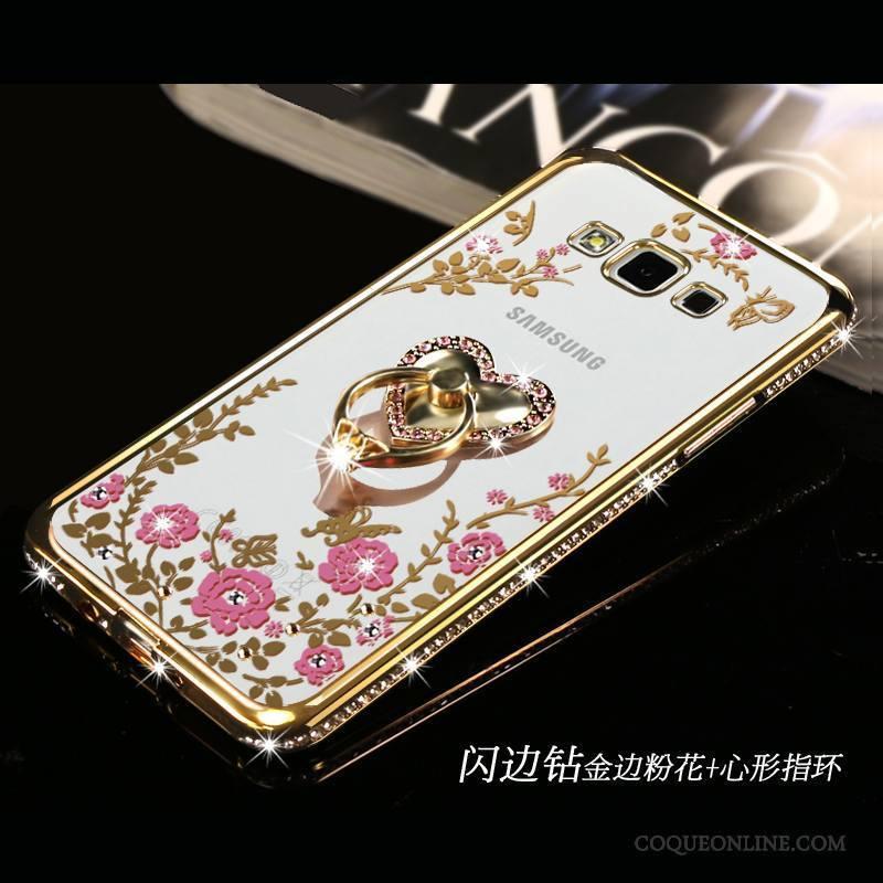 Samsung Galaxy A5 2015 Or Étoile Fluide Doux Incassable Coque De Téléphone Simple Tout Compris