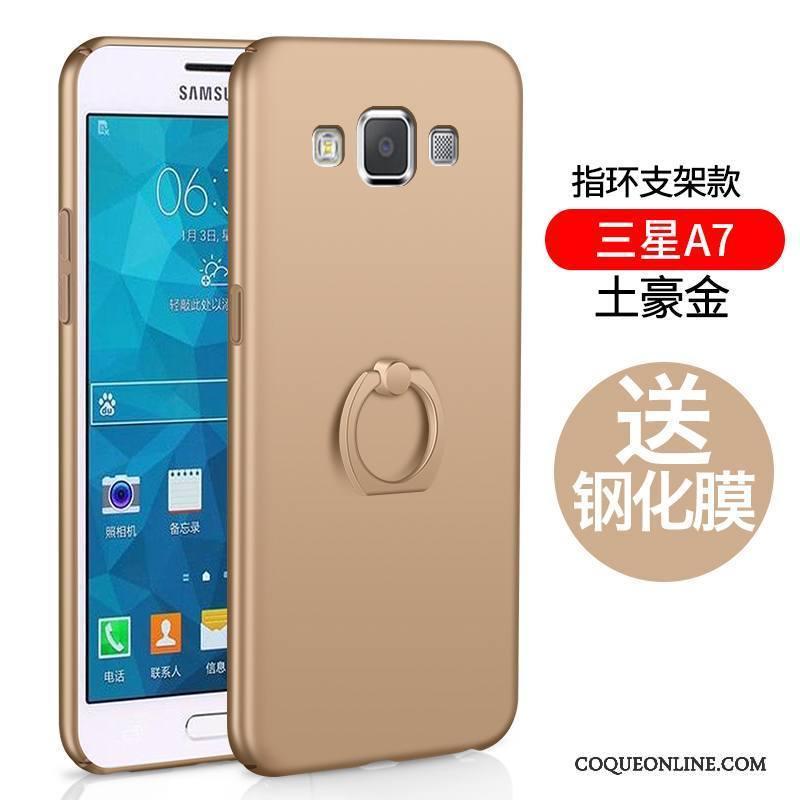 Samsung Galaxy A7 2015 Incassable Étoile Coque De Téléphone Protection Délavé En Daim Tout Compris Simple