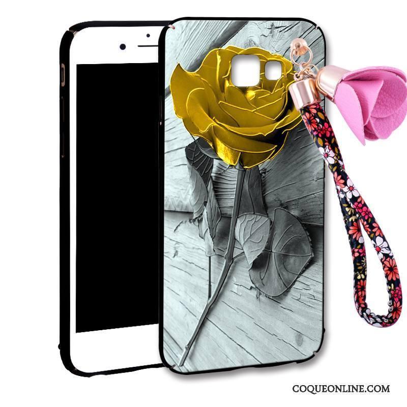 Samsung Galaxy A7 2016 Incassable Étoile Créatif Étui Tout Compris Personnalité Coque De Téléphone