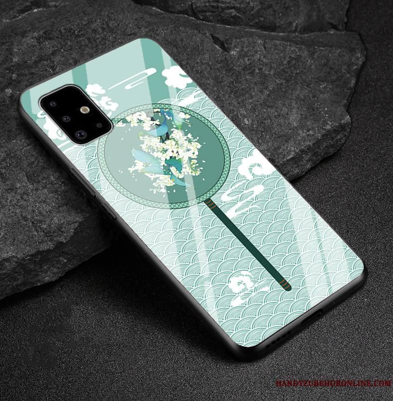 Samsung Galaxy A71 Coque Verre Protection Nouveau Tendance Étoile Silicone Fluide Doux