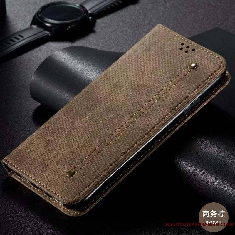 Samsung Galaxy A71 Tout Compris Protection Incassable Marron Business Coque De Téléphone Étoile