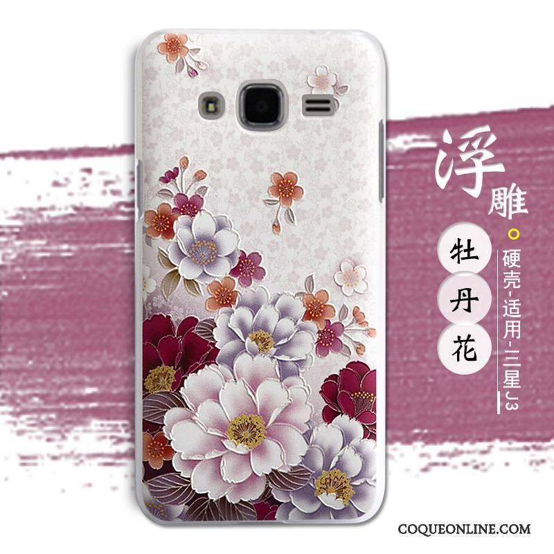 Samsung Galaxy J3 2016 Difficile Tendance Coque De Téléphone Étoile Étui Protection Téléphone Portable
