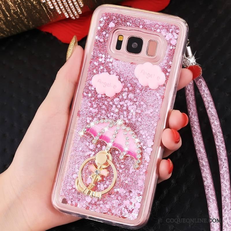 Samsung Galaxy Note 8 Personnalité Ornements Suspendus Étoile Protection Bleu Tout Compris Coque De Téléphone