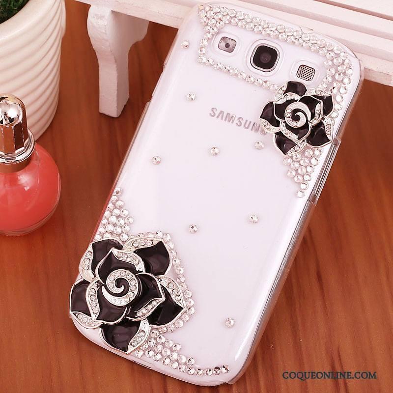 Samsung Galaxy S3 Téléphone Portable Coque De Téléphone Étoile Strass Difficile Protection Étui