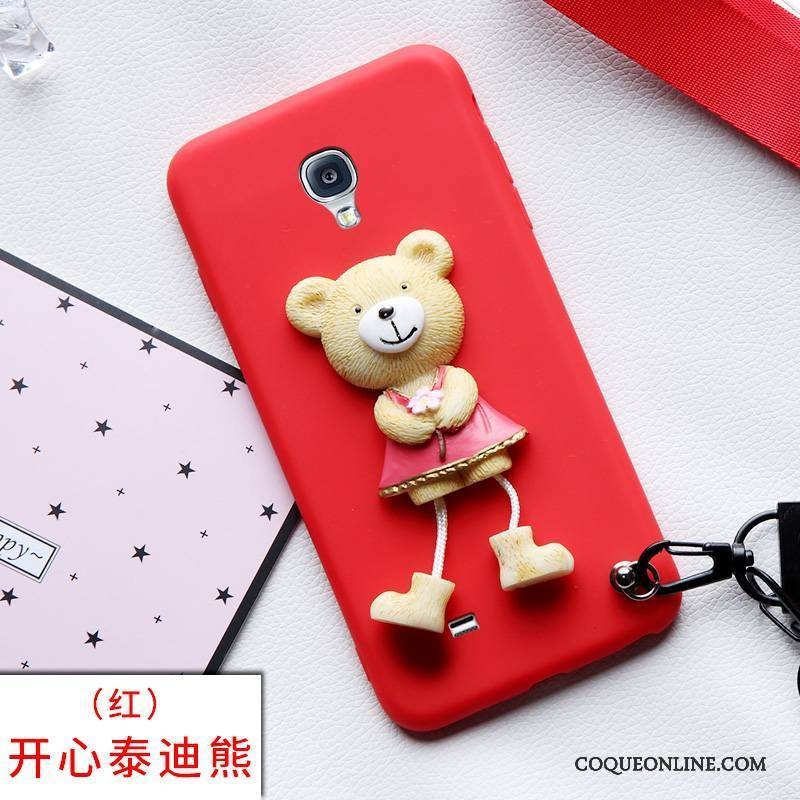 Samsung Galaxy S4 Charmant Silicone Coque De Téléphone Incassable Rouge Étui Protection