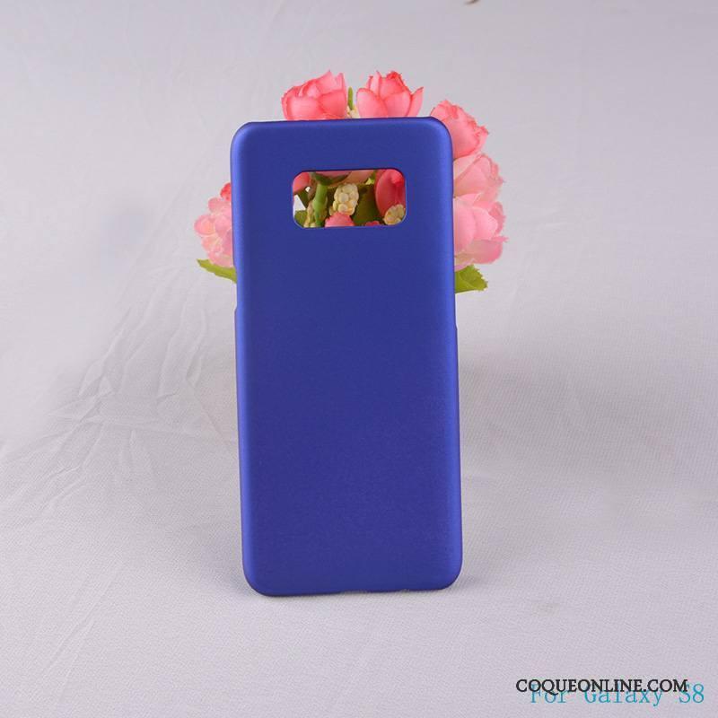 Samsung Galaxy S8 Délavé En Daim Rose Difficile Étoile Étui Protection Coque De Téléphone