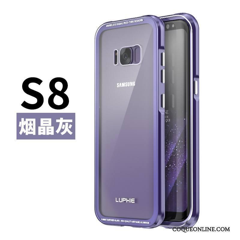 Samsung Galaxy S8 Incassable Téléphone Portable Métal Étoile Protection  Coque Étui En Ligne e99c23763664