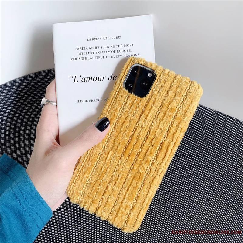 iPhone 11 Pro Coque Étui Protection Parfumé Incassable Couleur Unie Petit