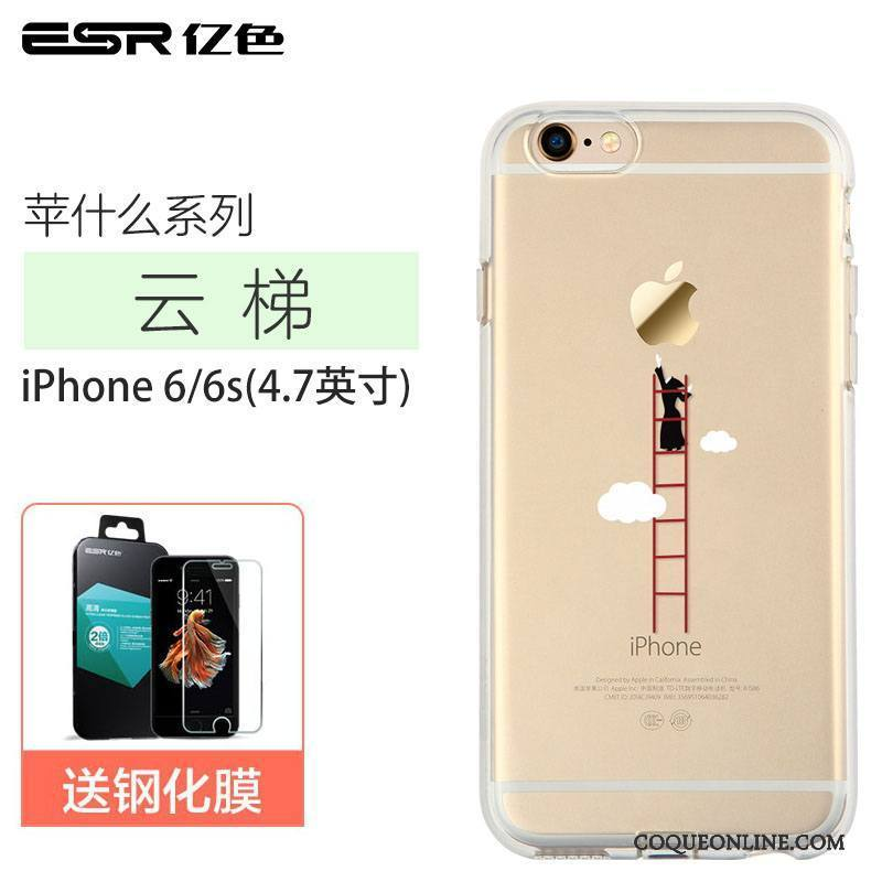 coque iphone 6 transparente dessin