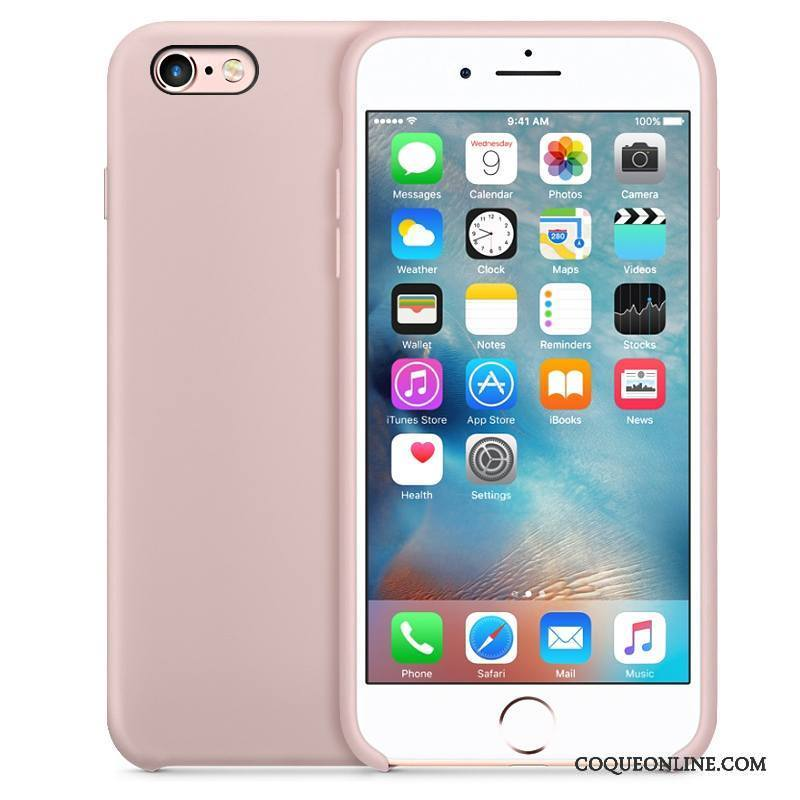 iPhone 6 6s Plus Incassable Silicone Étui Nouveau Bleu Coque Téléphone Portable 636 c02