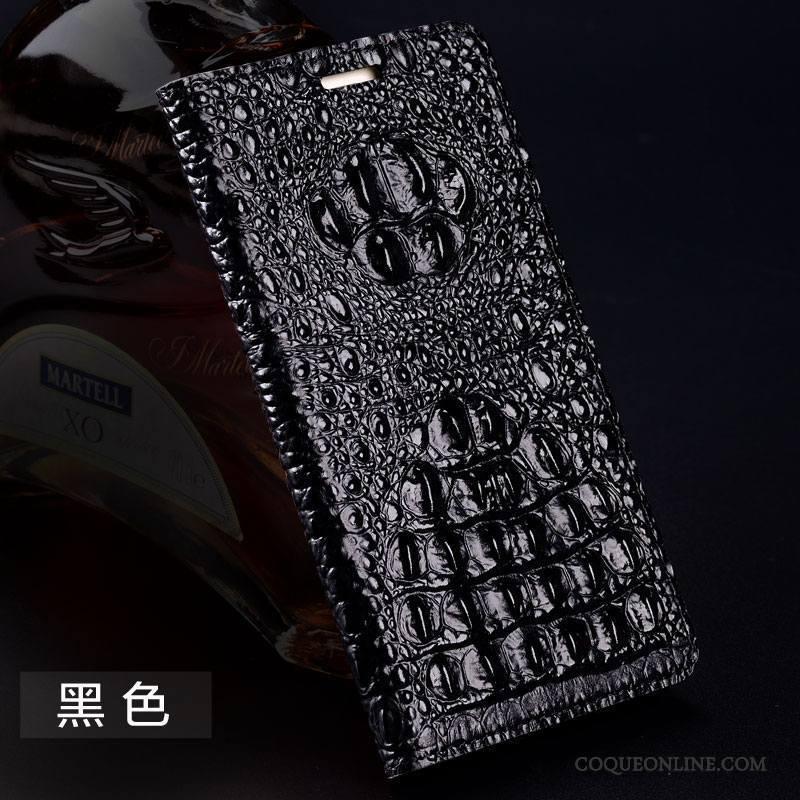 iPhone 7 Créatif Protection Incassable Noir Étui En Cuir Coque De Téléphone Cuir Véritable