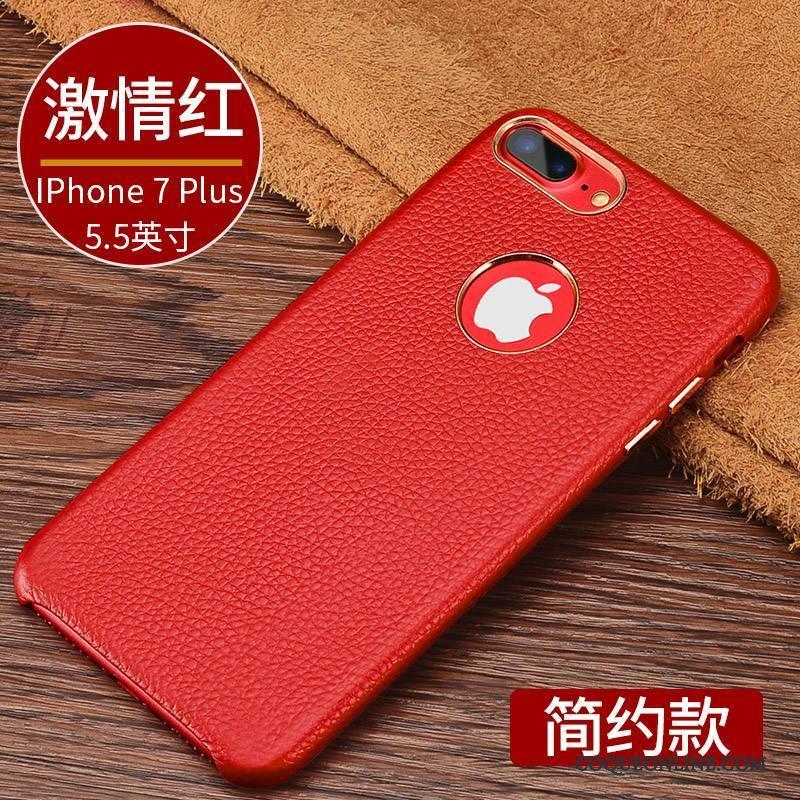 iPhone 7 Plus Étui En Cuir Nouveau Coque De Téléphone Business Tout Compris Protection Luxe 1173 c02