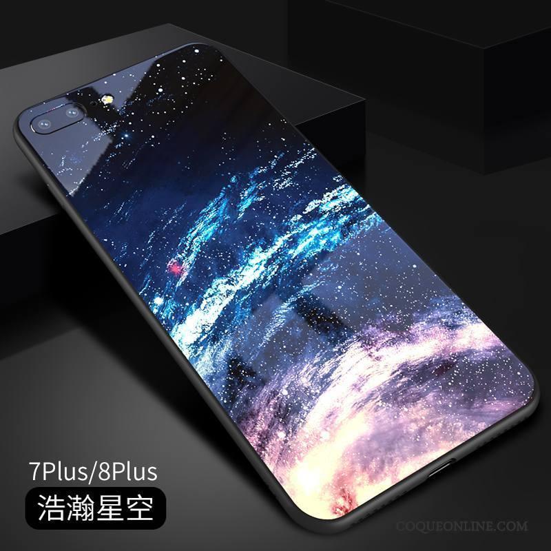 coque iphone 8 plus silicone miroir