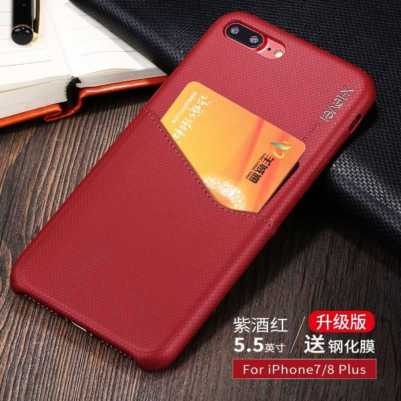 coque foncé iphone 8