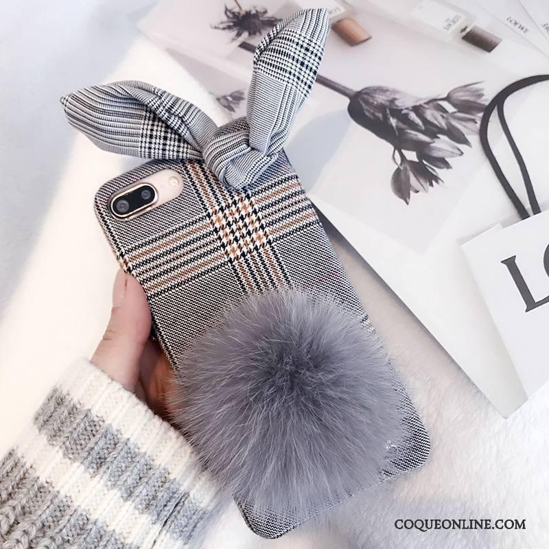 coque iphone 8 peluche