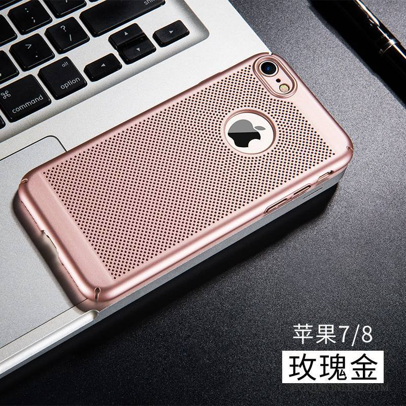 iPhone 8 Protection Étui Respirant Silicone Incassable Refroidissement Coque De Téléphone