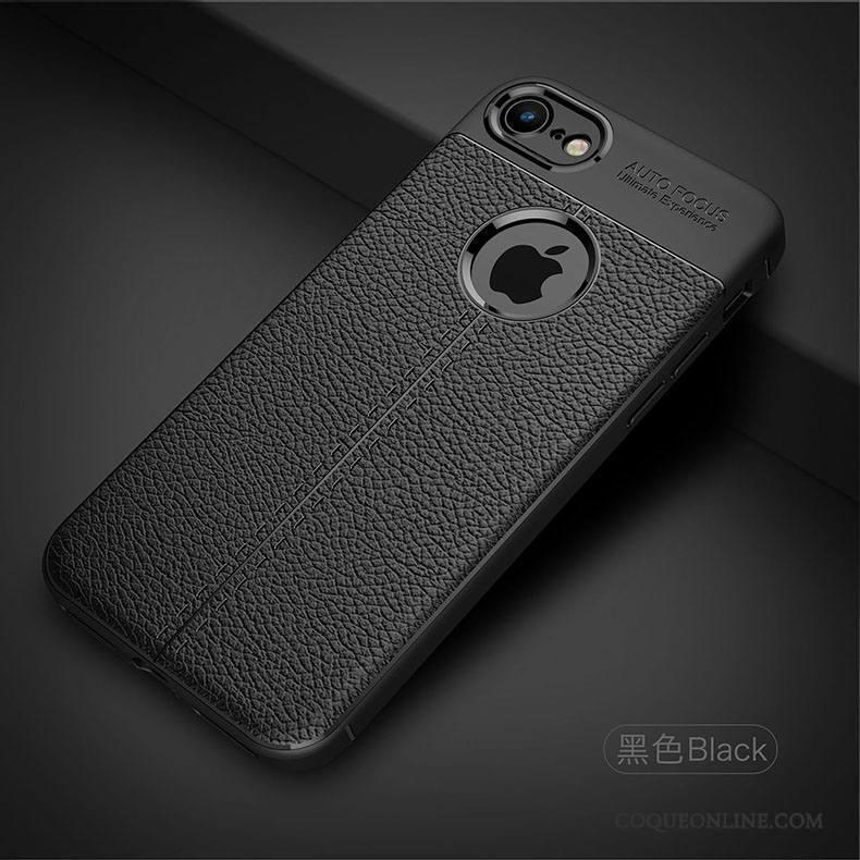 iPhone 8 Silicone Tout Compris Coque De Téléphone Tendance Étui Incassable Fluide Doux