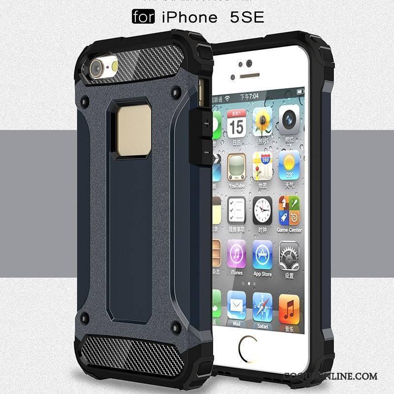 iPhone Se Tout Compris Silicone Trois Défenses Coque De Téléphone Étui Rouge Noir