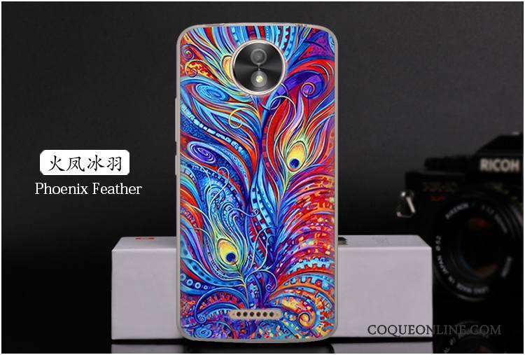 Moto C Coque De Téléphone Peinture Téléphone Portable Haute Dessin Animé Fluide Doux Très Mince