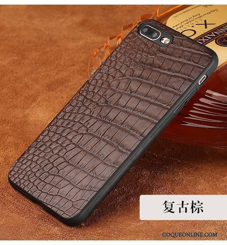 coque iphone 8 cuir noir