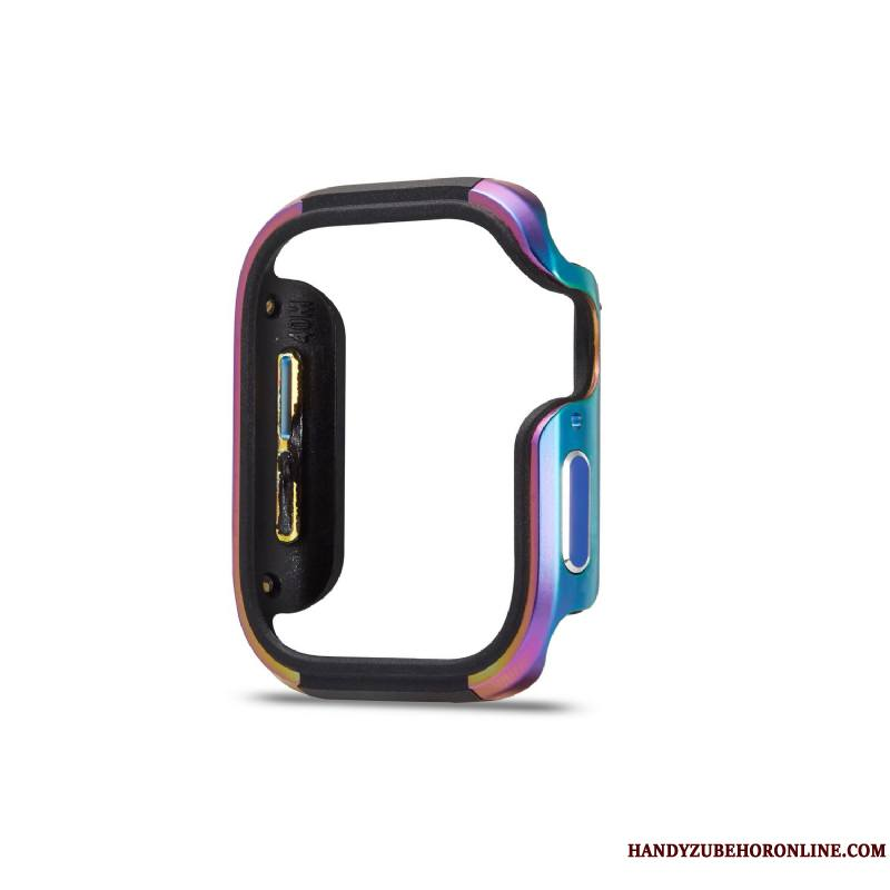 Apple Watch Series 2 Border Coque Multicolore Incassable Alliage Protection Métal